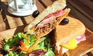 Franco's Mini Deli: Medium Sandwich Platter or $6 for $10 Worth of Deli Food at Franco's Mini Deli