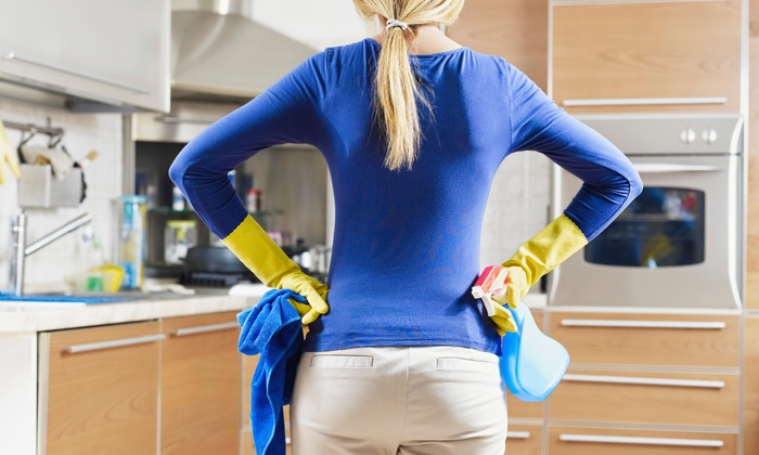 Hello Cleaning Service - Houston: Two Hours of Cleaning Services from Hello Cleaning Service (55% Off)