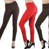 Women's High-Waist Cotton-Blend Leggings