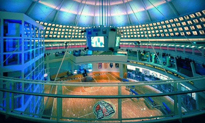 Naismith Memorial Basketball Hall of Fame - South End: Visit to the Naismith Memorial Basketball Hall of Fame for Two or Four (Up to 54% Off)