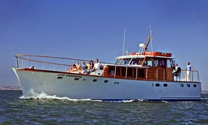 "Just Dreaming: $172 for a ""Love Under the Lights' Yacht Tour of the Bay for Two from Just Dreaming ($200 Value)"