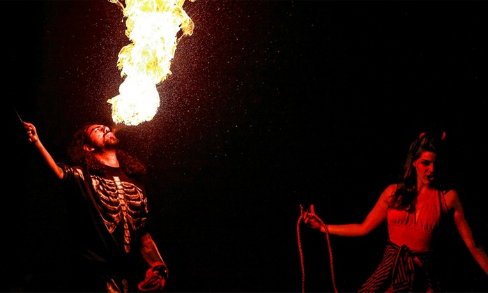 The Devil's Cabaret - Redmoon Theater: The Devil's Cabaret at Redmoon Theater on March 27–April 10 (Up to 40% Off)