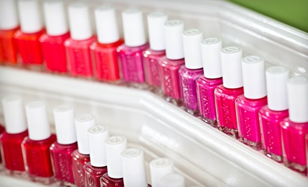 $44 for a Picasso Pedicure with Nail Designs and a Take-Home Professional Foot File at Bloom Essentials ($85 Value)