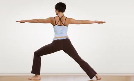 10 or 20 Yoga Classes at Pura Vida Yoga (Up to 72% Off)