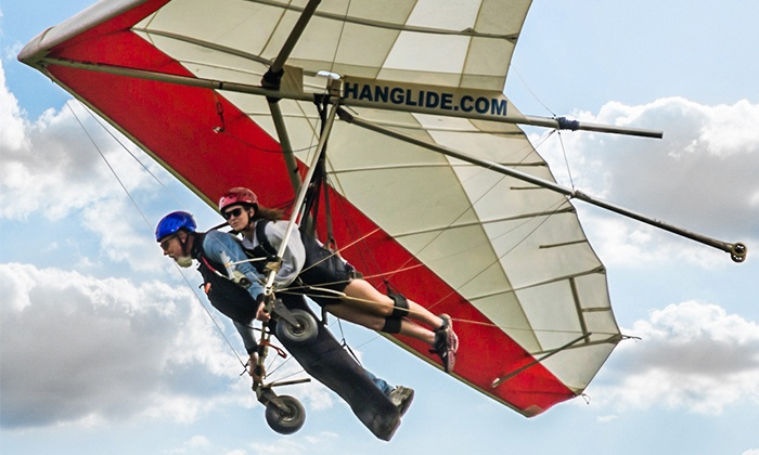 Lookout Mountain Flight Park - Rising Fawn: $99 for a 1,500-Foot Discovery Hang-Gliding Experience at Lookout Mountain Flight Park ($199 Value)