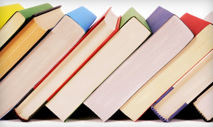 Book Vault - Multiple Locations: Used Books at Book Vault in Mesa (Half Off). Two Options Available.