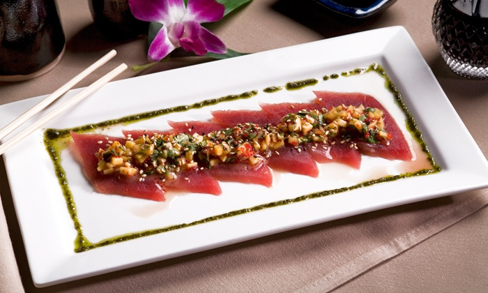 Sakimura - Simsbury Center: Japanese Food and Sushi for Dinner for Two or Four at Sakimura (Up to 50% Off)