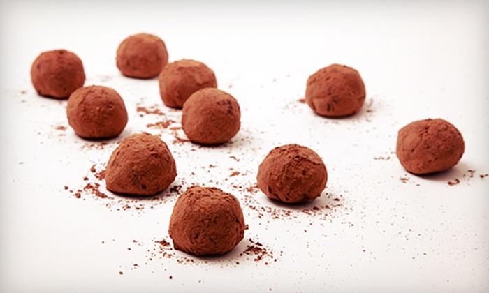 Love Bird Chocolates: Raw Organic Vegan Truffles from Love Bird Chocolates (Up to 59% Off). Three Options Available.