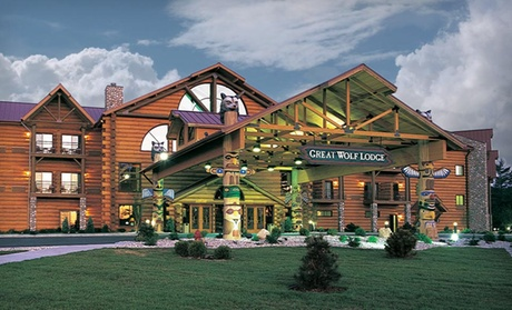 Stay for 4 at Great Wolf Lodge Williamsburg