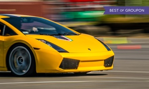 Experience Supercars: Ferrari or Lamborghini Experience from Experience Supercars (Up to 82% Off). Five Options Available.