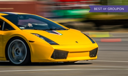 Ferrari or Lamborghini Autocross Experience from The Motorsport Lab (Up to 84% Off). Four Options Available.