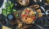 25% Cash Back at Mezza Luna Pasta & Seafood Marietta