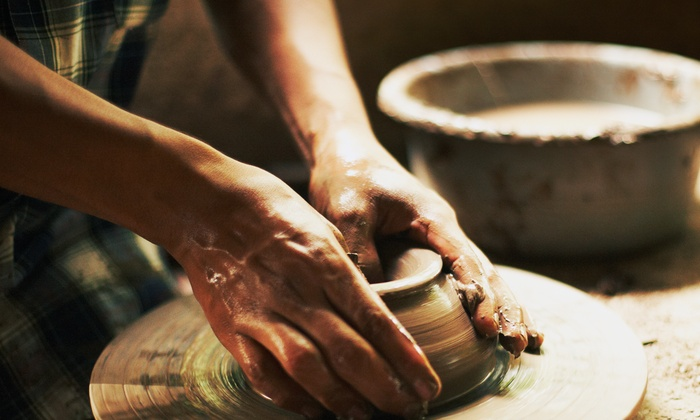 Mudlark Pottery Studio - Florence: Pottery-Painting at Mudlark Pottery Studio (50% Off)