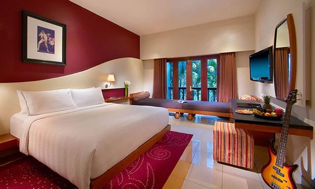 Bali: Hard Rock Hotel & Flights 1