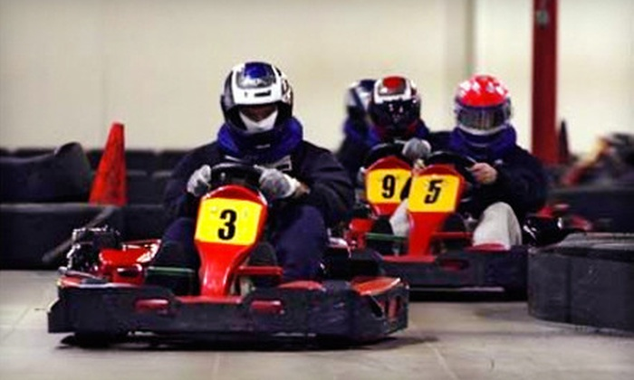 Fast Lap - Paradise: Three Same-Day Go-Kart Races for Two or Four on Sunday–Friday (Up to 67% Off)