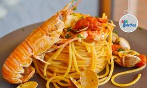 Ristorante Pizzeria Antica Trattoria Da Marion: Menu gourmet di pesce e vino all'Antica Trattoria Da Marion sul lungomare di Senigallia (sconto fino a 68%)