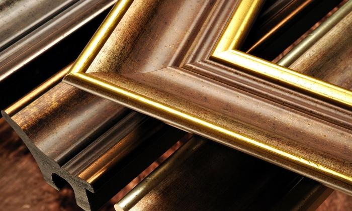 Art Frame Solutions - Reston: $50 for $100 Worth of Custom Framing — Art Frame Solutions
