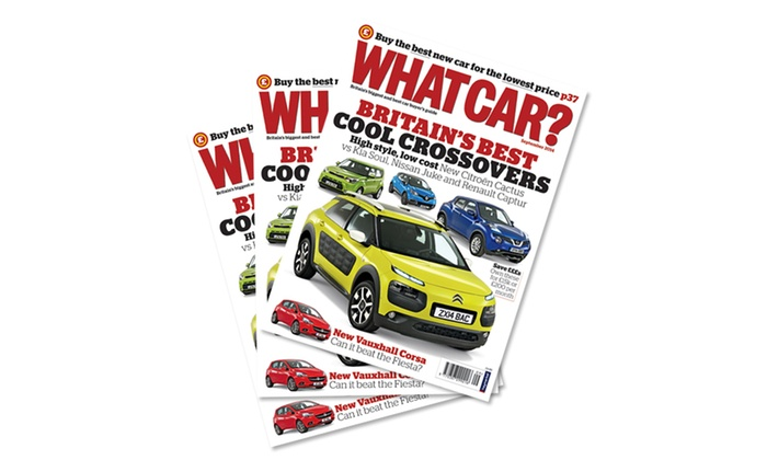 What Car Magazine Subscription Groupon Goods