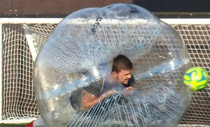 image for Bubble Football Match for Up to 15 People at Bristol Bubble Ball (47% Off)