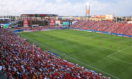 FC Dallas MLS Match Including On-Field Experience and Food Voucher on August 9 or August 22 (Up to 60% Off)
