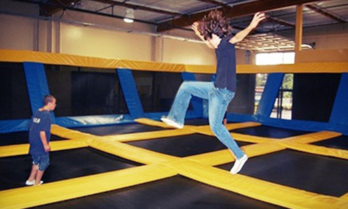 Great Jump Sports - Milpitas: Two Hours of Trampoline Jump Time for Two or Four at Great Jump Sports (Up to 55% Off)
