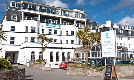 Bournemouth: 1- or 2-Night Seafront Stay with Dinner