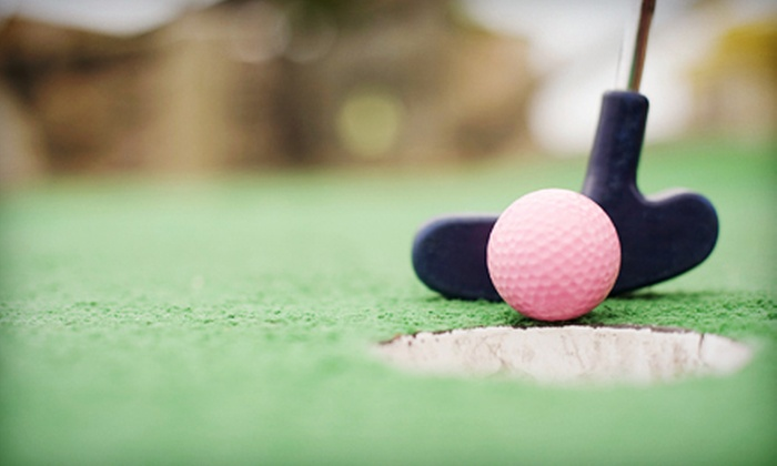 Blackbeard's Family Entertainment Center - Fresno Yosemite International Airport: $10 for Mini Golf, Attractions, Games, and Popcorn for Two at Blackbeard's Family Entertainment Center (Up to $37 Value)