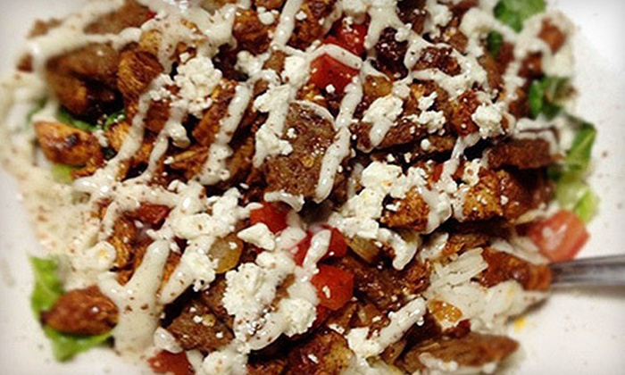 Sultan Cafe - Northwest Side: Mediterranean Food and Soft Drinks at Sultan Cafe (Up to 53% Off). Two Options Available.