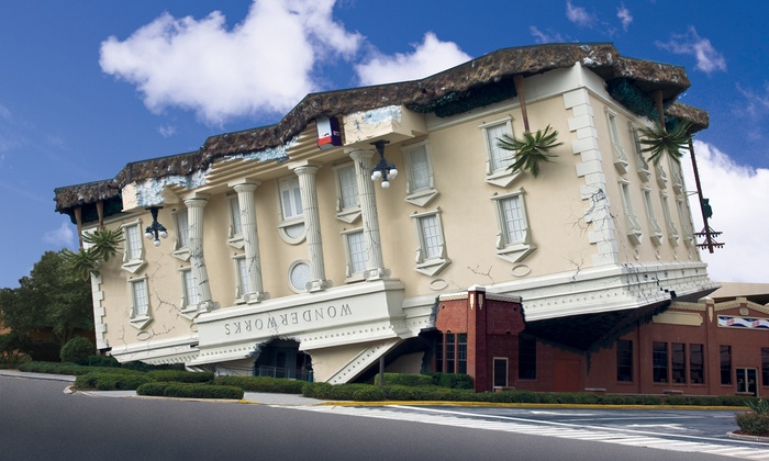 WonderWorks Orlando - Orlando: $26 for General Admission for Two to WonderWorks Orlando ($53.86 Value)