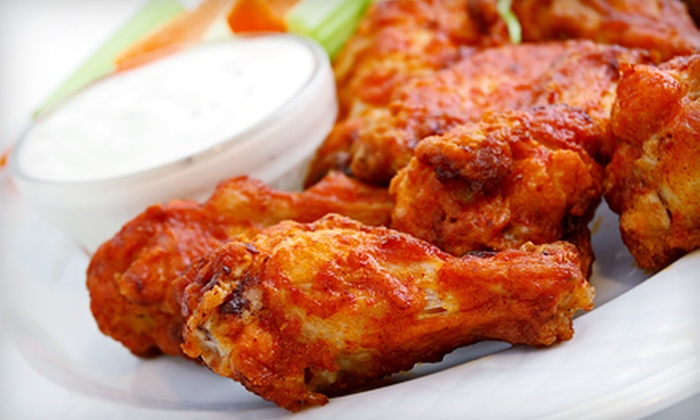 WG's Chicken Wings - Columbia: Meal with Wings and Entrees for Two or Four at WG's Chicken Wings (Up to 54% Off)