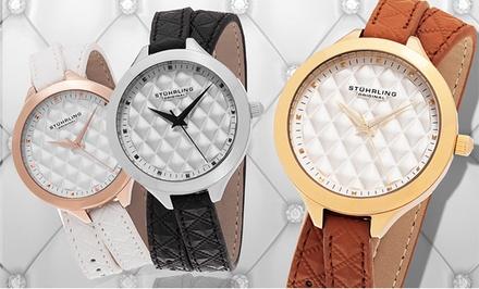 Stührling Original Women's Double-Wrap Dress Watch