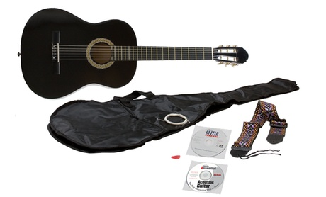 eMedia Essential Acoustic Guitar Bundle with Acoustic Guitar, eMedia Guitar Method Software, and Guitar Accessories ab5c7040-bcc5-11e6-88d3-002590604002