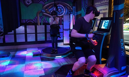 Virtual Reality Experience: 10 $6.90, 15 $8.90 or 30 Minutes $15 at Darkzone Laser Tag & Events Up to $30 Value
