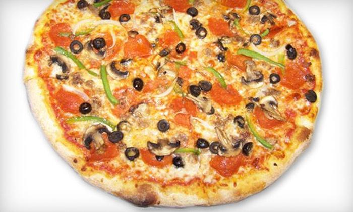 Black Dog Pizza - Arlington: Italian Food at Black Dog Pizza (Half Off). Two Options Available.