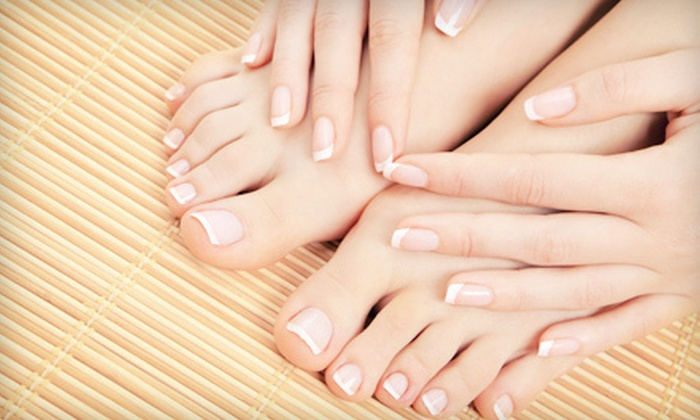 Josef & Stephen Salon - Greenville Community College: One or Two Summer Spa Mani-Pedis with Diana Wright at Josef & Stephen Salon (Up to 67% Off)