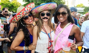 Tequila Run: General or VIP Admission to Cinco de Mayo Bar Crawl for One or Two from Tequila Run on May 5 (Up to 59% Off)