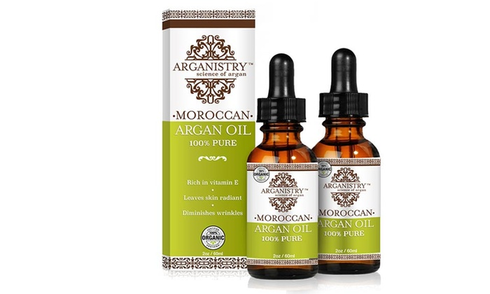 Arganistry 100 Pure Moroccan Organic Argan Oil 2 Or 4 Oz