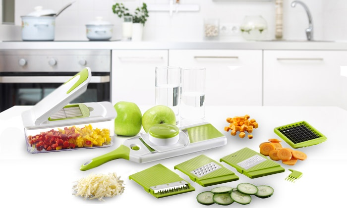 Coupes l gumes multifonctions groupon shopping - Coupe legumes multifonction ...
