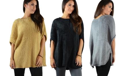 Women's Oversized Faux Fur Top