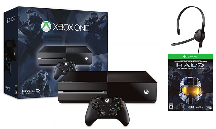 Xbox One 500gb And Halo The Master Chief Collection Bundle