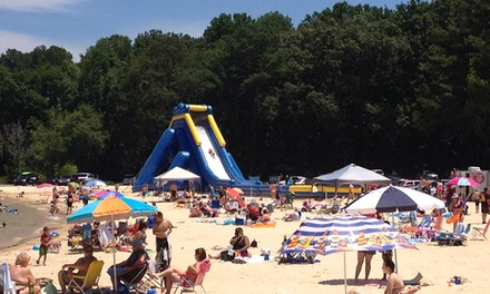 $14 for an All-Day Pass with Sliding, Parking, and Shaved Ice for One to Acworth Slide ($24 Value)