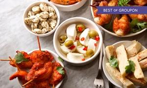 Aqui Espana: Tapas all-you-can-eat für zwei Personen im Restaurant Aqui Espana (57% sparen*)