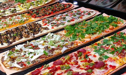 Pizza Lunch or Dinner for Two at Patrick Jane's Gourmet Pizza Bar (Up to 48% Off)