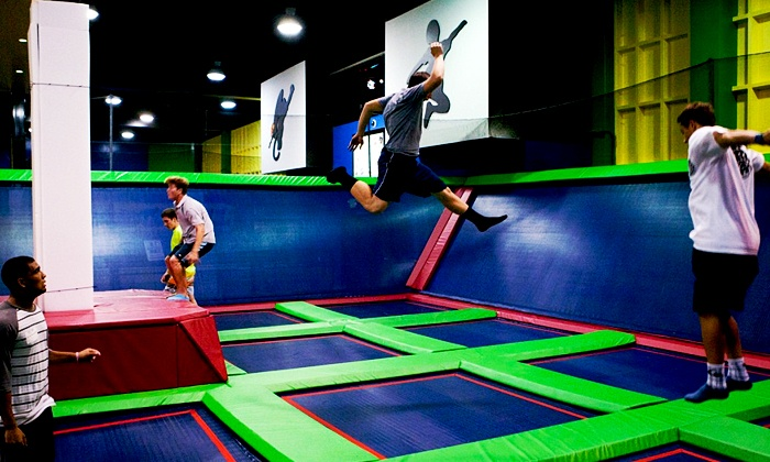 Big Air Trampoline Park Redlands - Redlands: Birthday Party for Up to 10 Kids or Two 60-Min. Jump Passes at Big Air Trampoline Park Redlands (Up to 50% Off)