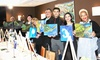 Canvases, Cabernet & Merlot - Courtyard by Marriot: Painting Class for Two or Four at Canvases, Cabernet & Merlot (Up to 49% Off)