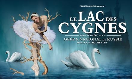 1 place pour 'Le Lac des Cygnes' à Liège, Marche-en-Famenne ou Charleroi dès 15 €