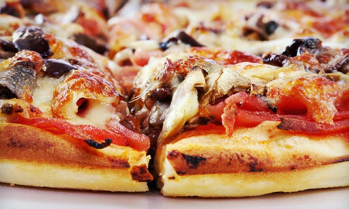 Dover Pizza Steak House & Lounge - Marlborough: $10 for $20 Worth of Italian Fare, Pizza, and Drinks at Dover Pizza Steak House & Lounge