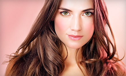 Moroccanoil or Kérastase Conditioning with Haircut, Color, or Highlights at Isaac B. Salon (Up to 70% Off)