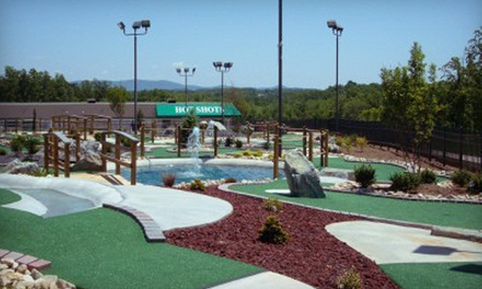 Hot Shots Family Fun Center - Westlake Corner: $15 for a Round of Miniature Golf for Four at Hot Shots Family Fun Center (Up to $30 Value)
