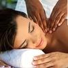 Rücken-Nackenmassage und Peeling
